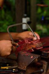hand carving souvenirs