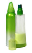 Closed Cosmetic Or Hygiene Plastic Bottle Of Gel, Liquid Soap,