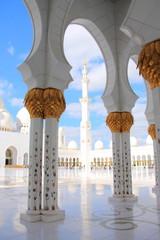 Sheik Zayed Grand Mosque in Abu Dhabi