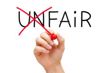 Fair Not Unfair