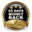 60 DAYS MONEY BACK GUARANTEE ICON