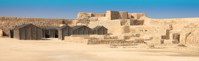 Qalat al Bahrain Fort in Manama