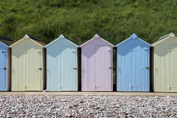 Budleigh Salterton Beach Huts