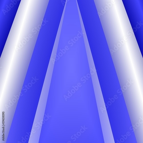 Blue And Silver Background