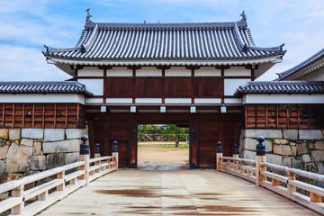 The Gate of Hiroshima Castle