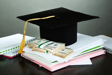 Money for graduation or training
