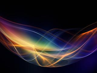 Visualization of Fractal Waves