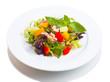 Beautiful vegetable salad