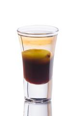 Olive drink shot