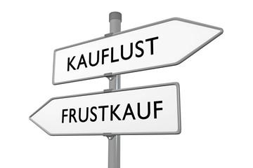 KAUFLUST / FRUSTKAUF