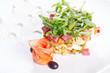 Elegant vegetable salad