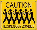 legrační opatrnost technologie zombie znamení