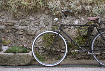 Decorative vintage bicycle