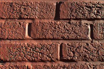 painted brick wall texture
