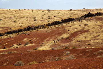 volcanic stone lanzarote  spain  timanfaya  rock  sky  summer
