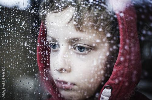 Depressed little kid
