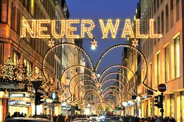 Neuer Wall - Hamburg.