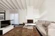interior, comfortable loft, modern furniture, living room