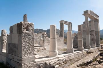 Temple of Demeter, Naxos island (Greece)