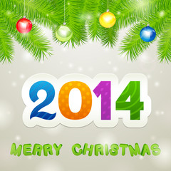 Merry Christmas 2014 Background