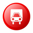 bouton internet camion livraison red icon
