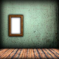 frame on indoor background