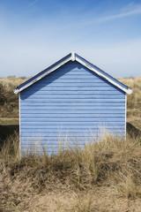 Beach Hut at Hunstanton, Norfolk, UK