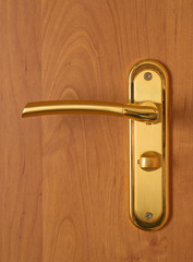 door lock and handle