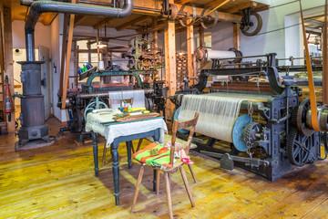 Arbeitsplatz in einer historischen Werkstätte
