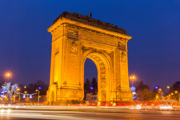 Arc de Triumph, Bucharest Romania