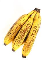 Banane mit Sommersprossen