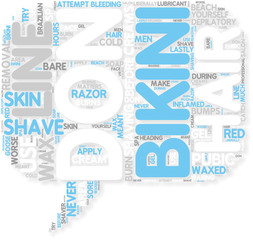 Concept of Bikini Line Hair Removal  What Not To Do
