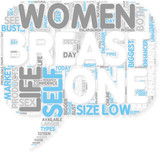 Concept of Breast Enlargement  Is Natural Breast Enhancement poster