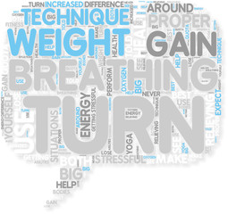 Concept of Can Breathing Help You Lose Weight