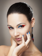Make-up portrait
