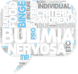 Concept of Common Bulimia nervosa