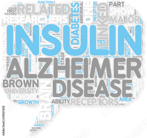 Concept of Diabetes  Alzheimer s and Diabetes Could Be Linked