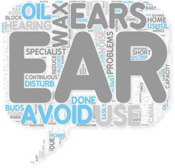 Concept of Ear Wax  Useful As Well As Menace