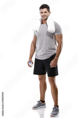 Athletic young man