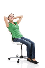 Female sitting
