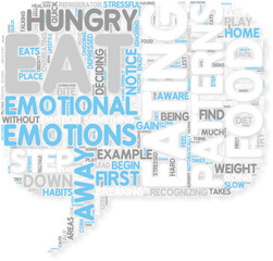 Concept of Emotional Eating Shedding Light on your Hidden Pat