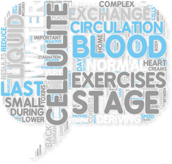 Concept of Exercises Danger on the Last Stage of Cellulite