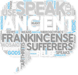 Concept of Frankincense Ointment Means Hope for Arthritis Suf