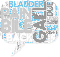 Concept of Gall Bladder Back Pain