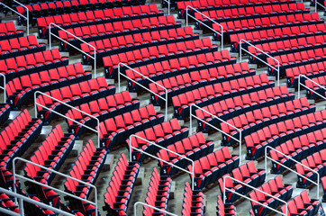Indoor arena seats