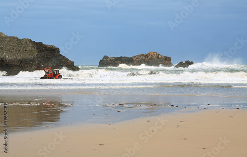Beach of Barro near Llanes village