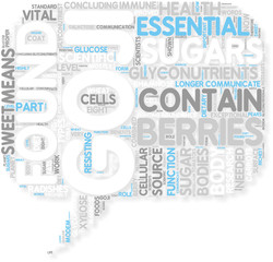 Concept of Goji Berries contain Glyconutrients what are the h