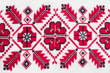 ukrainian decorative pattern.