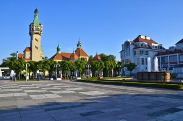Praça Central de Sopot