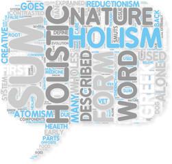 Concept of Holistic Holism
